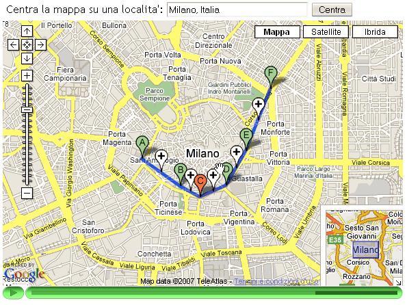 Come segnalare itinerari for Disegnare una piantina